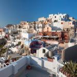 Ostrov Sntorini, Řecko