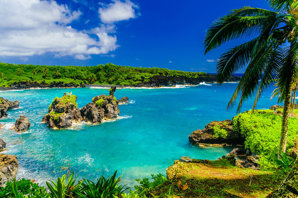 Zátoka na Maui